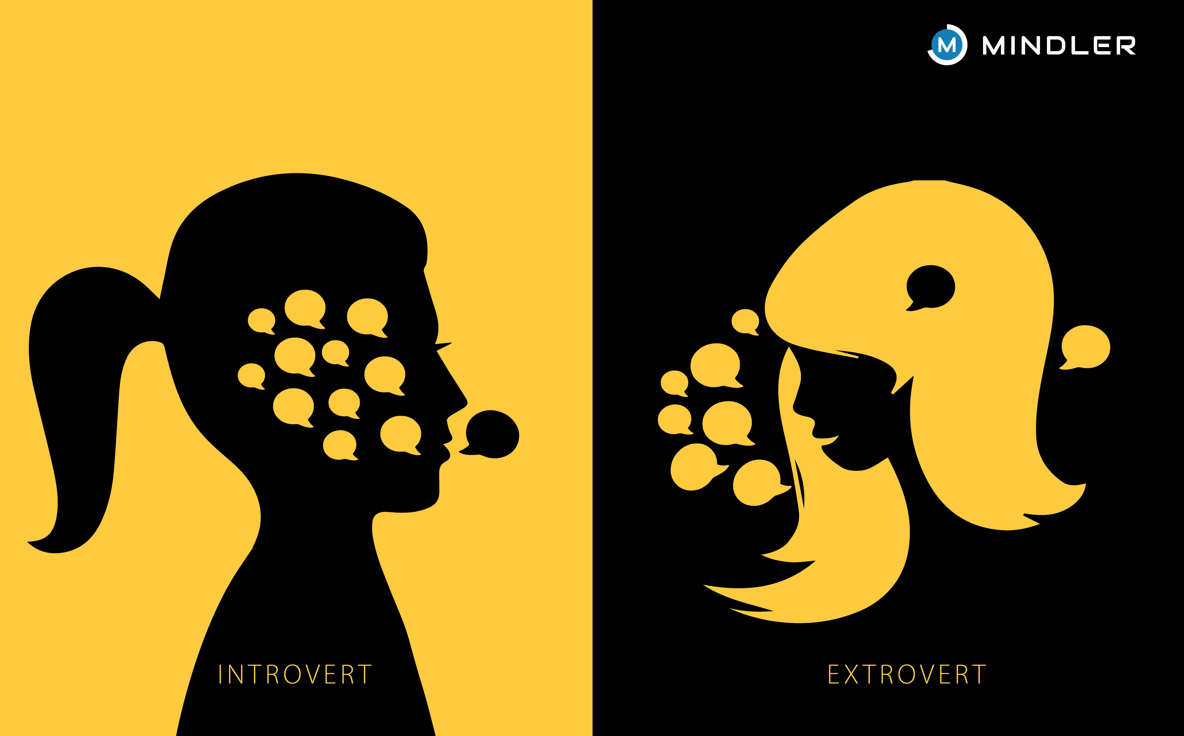 Supporters clipart outgoing personality How Vs  Extroverts: Impacts