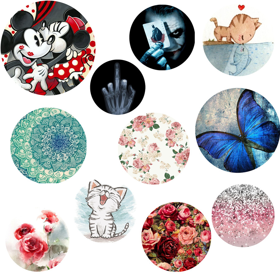 Supporters clipart round Promotional Hand Support Silicone Pop