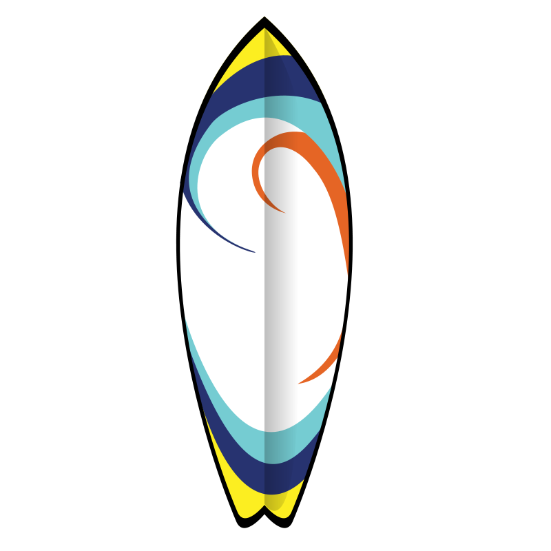 Surfer clipart surfboard Surfboard Free Art Images clipart