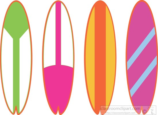 Surfer clipart surfboard 32 beach surfboards Pictures clipart