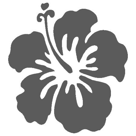 Surfboard clipart floral #6
