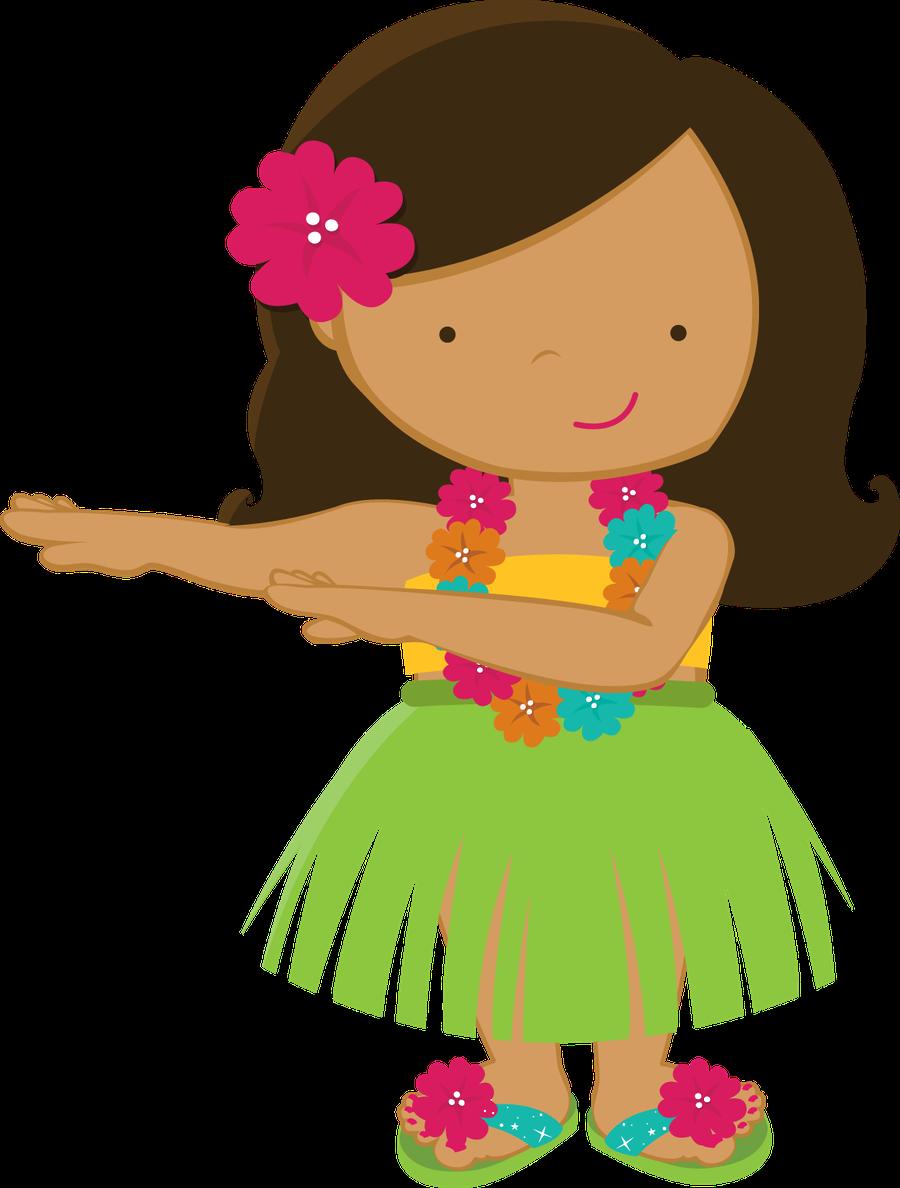 Hawaii clipart hula dancer Minus Girl ALOHA Minus /