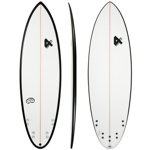 Surfboard clipart outline #9
