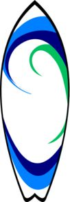 Surfboard clipart vector Clip art  Surfing Art