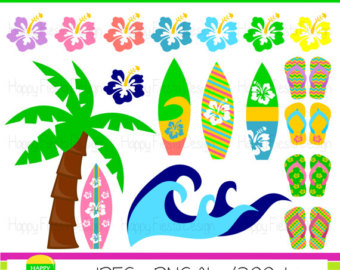 Sandal clipart surfer Use Graphics Personal – Surfing