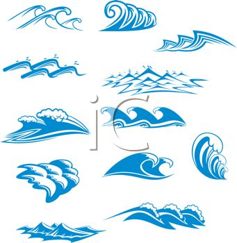 Monster Waves clipart ocean splash #11