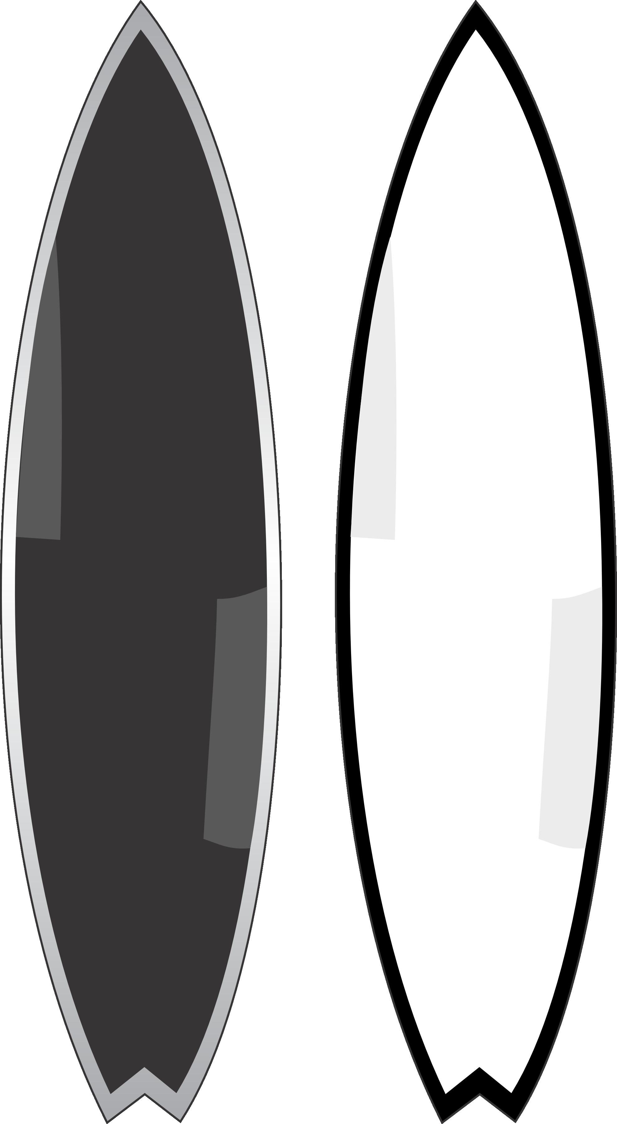 Templates  clipart surfboard Clipart surfing surfboard 5 surfboard