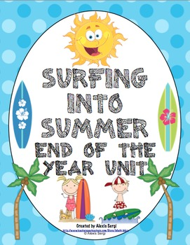 Surfer clipart summer activity  Week Summer and End