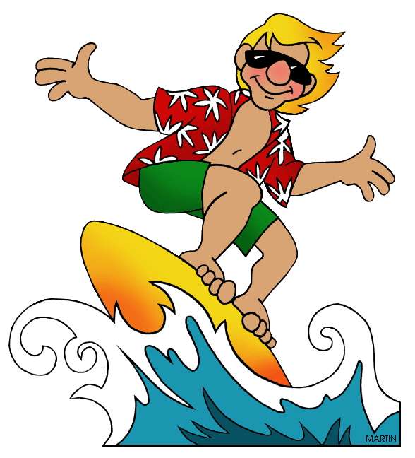 Surfer clipart summer activity  Bayport Summer Blue Point