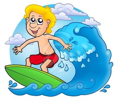 Surfer clipart surfer kid Surfing Clipart Panda Images Surfing