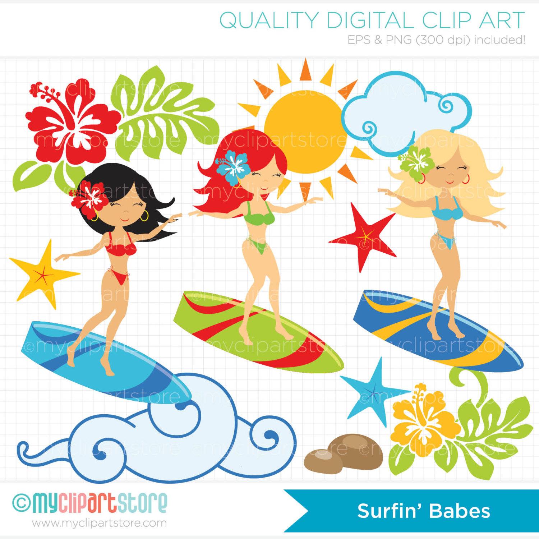 Surfer clipart surfer kid Surfer  on Clip Art