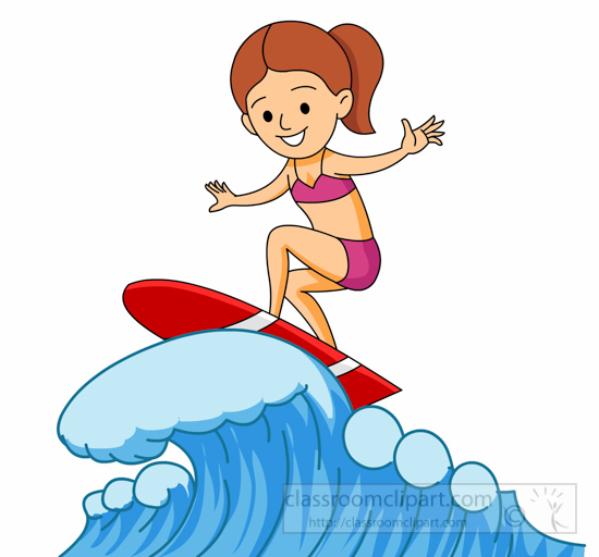 Surfer clipart california Riding Clipart 117  Graphics
