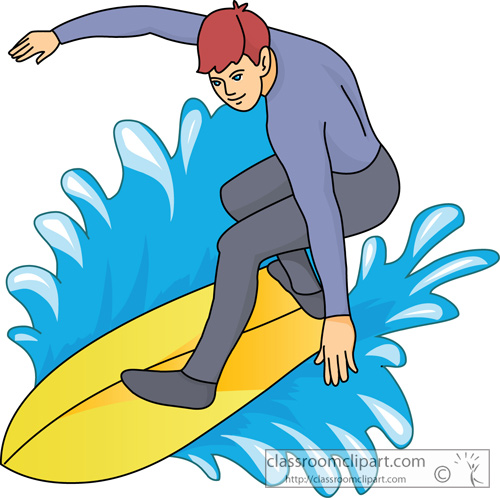 Surfing clipart Art Surfing Clipart Free Clip