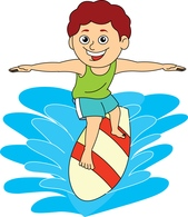 Surfing clipart Search Results Download Art Clipart