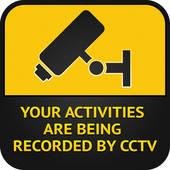 Surveillance clipart Surveillance CCTV pictogram sign Symbol