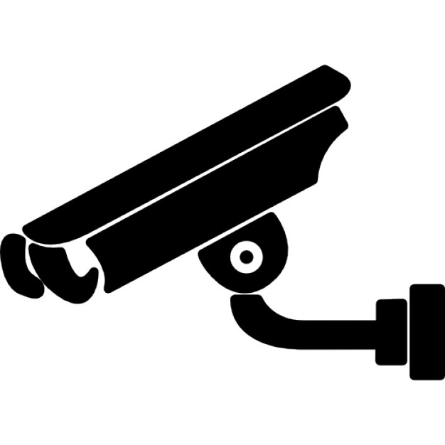 Surveillance clipart black and white Photos files and Free video