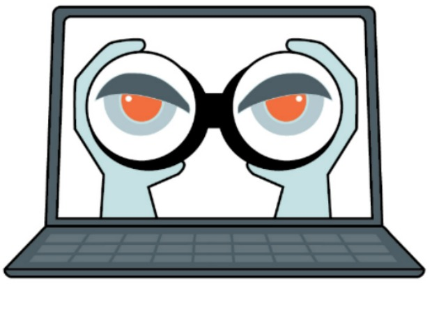 Surveillance clipart evidence Evidence Internet justify examples' 'good