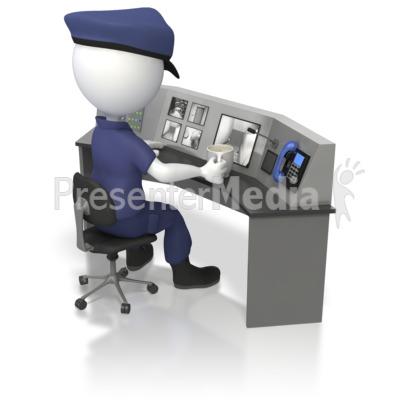 Surveillance clipart network security Templates Surveillance PowerPoint Animations Media