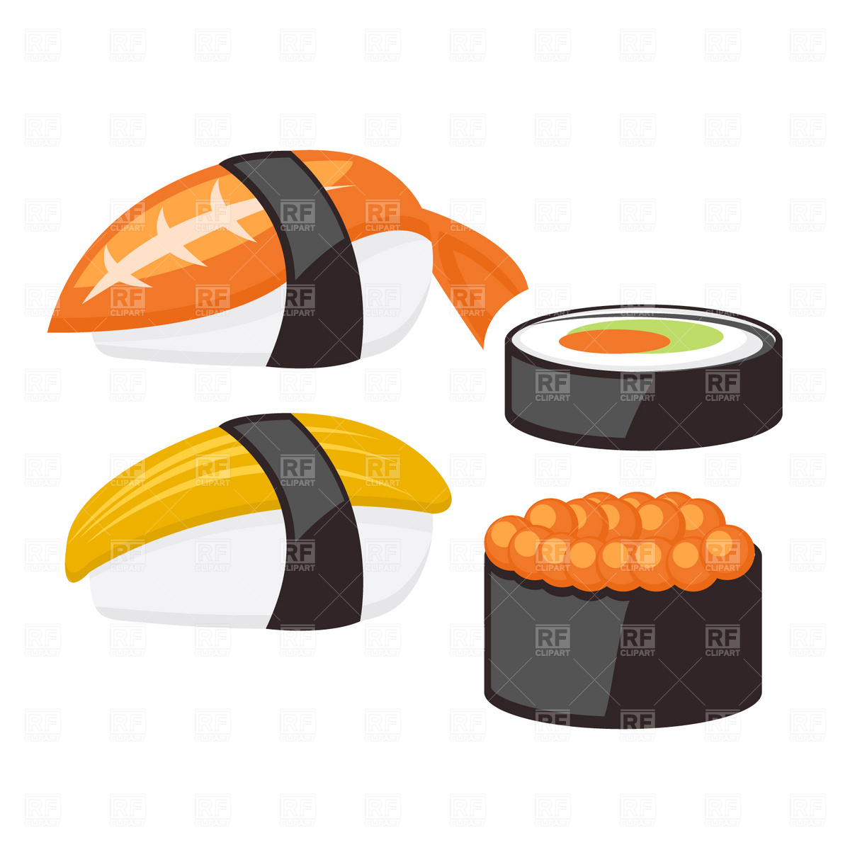 Sushi clipart graphic Clip Clipart Sushi Clipart Panda