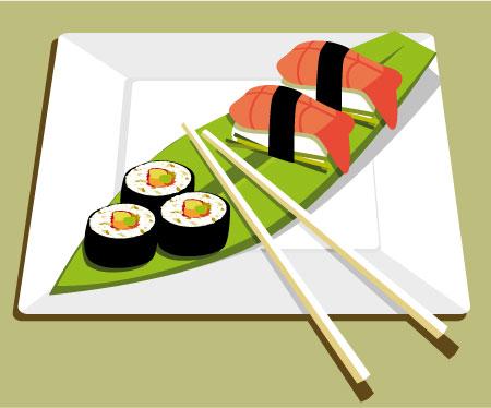 Sushi clipart graphic Art Cliparts Clip Library Clip
