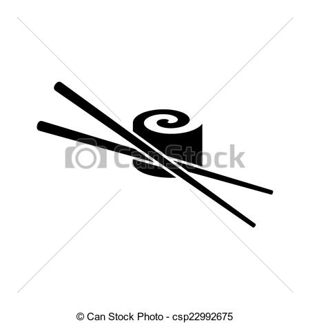 Sushi clipart logo Csp22992675 Vectors icon Illustration chop