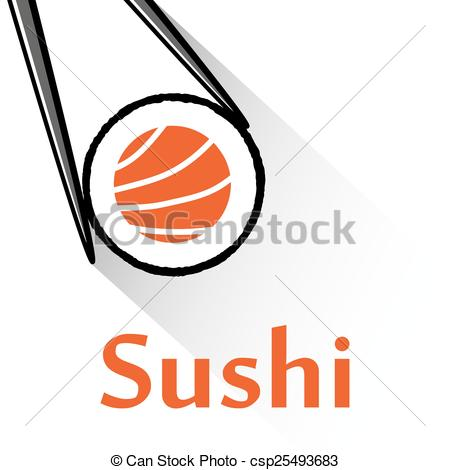 Sushi clipart logo Csp25493683 Vector csp25493683 of