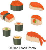 Sushi clipart vector Clip  art Vector Sushi
