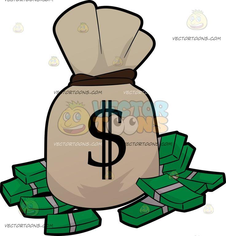 Cash clipart sack money Images Art Bag Of A