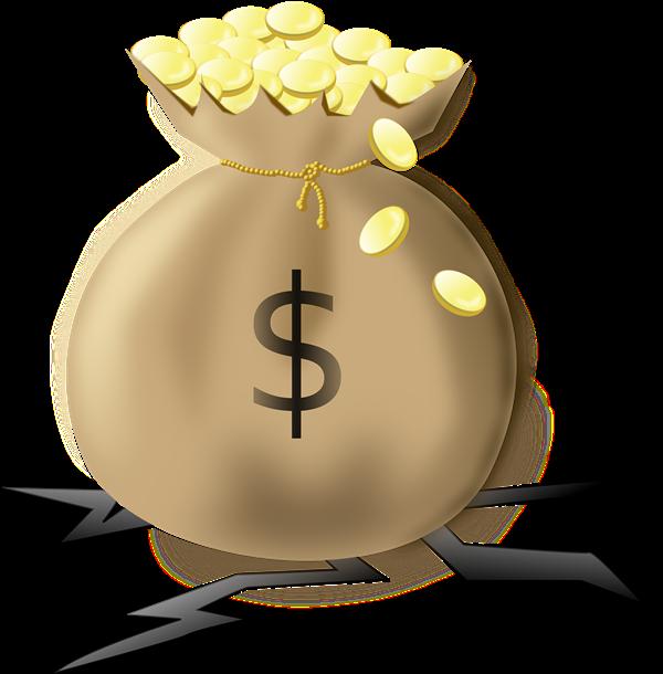 Coin clipart bag gold coin & Public Bag Bag Coins