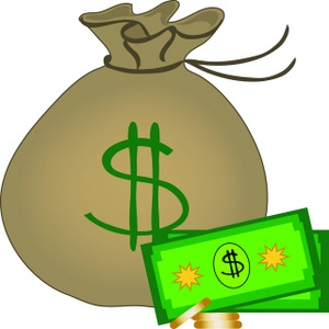 Cash clipart sack money Clip art Money Money 62