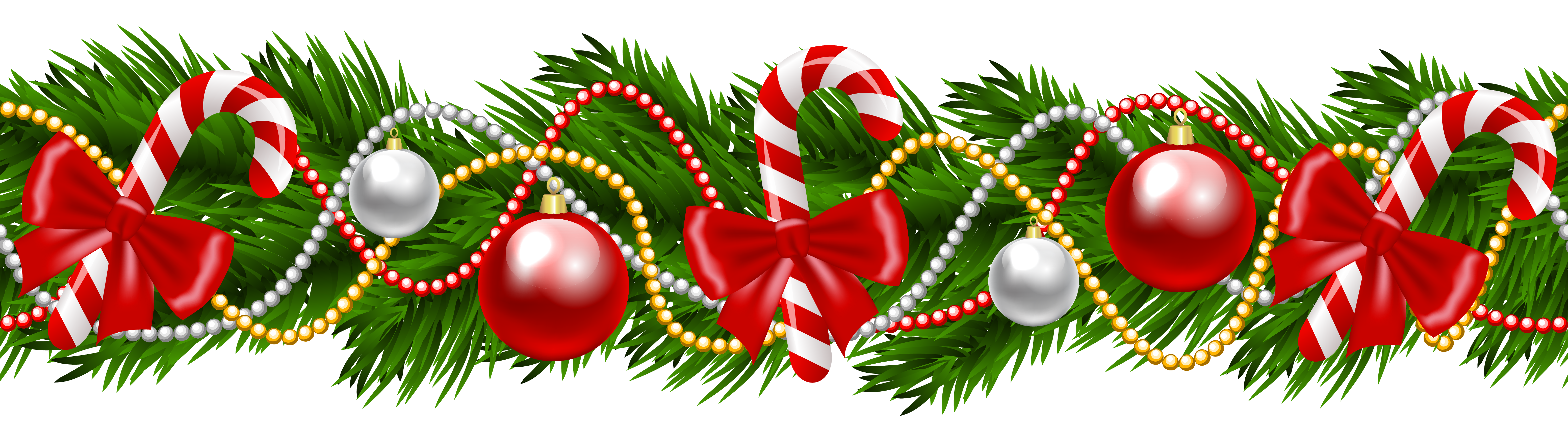 Candy Cane clipart christmas wreath Christmas Christmas Garland christmas garland