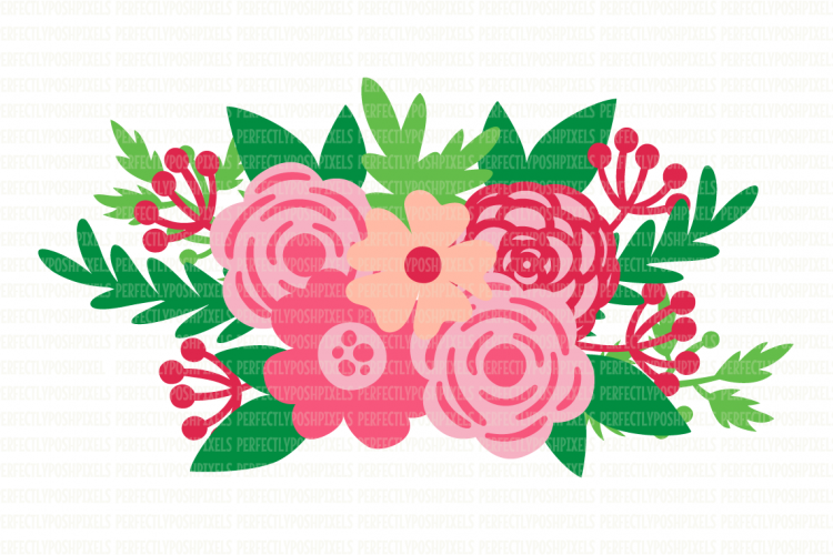 Swag clipart flower Flower Printable DXF SVG Floral