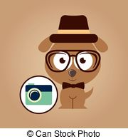 Swag clipart hipster glass Dog move of symbol camera