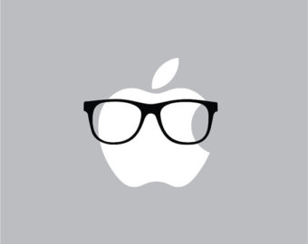 Swag clipart hipster glass Glasses Round Decal Mac Apple