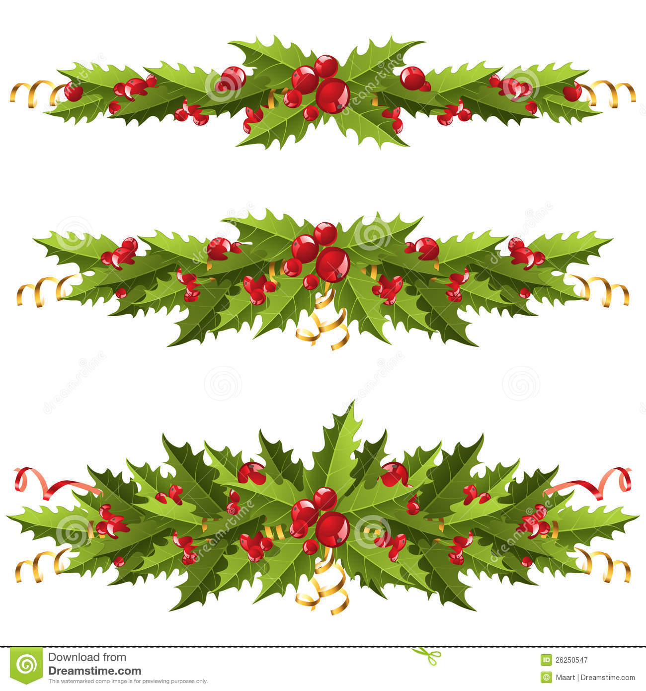 Holley clipart swag Holly clipart Clipart berry Collection