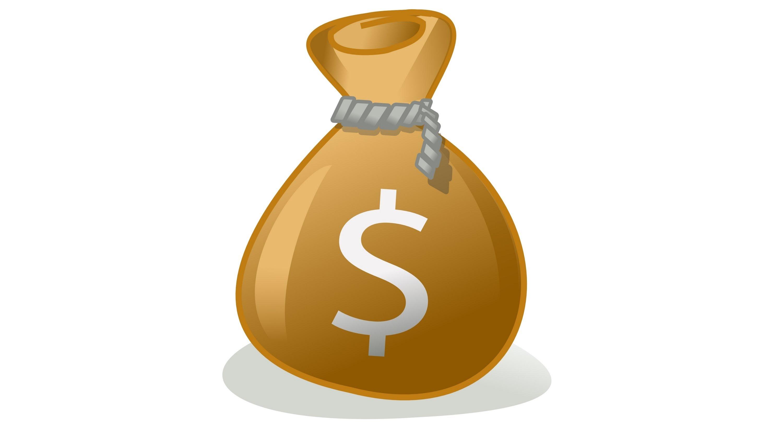 Cash clipart sack money Bag Views: Money Clip Money