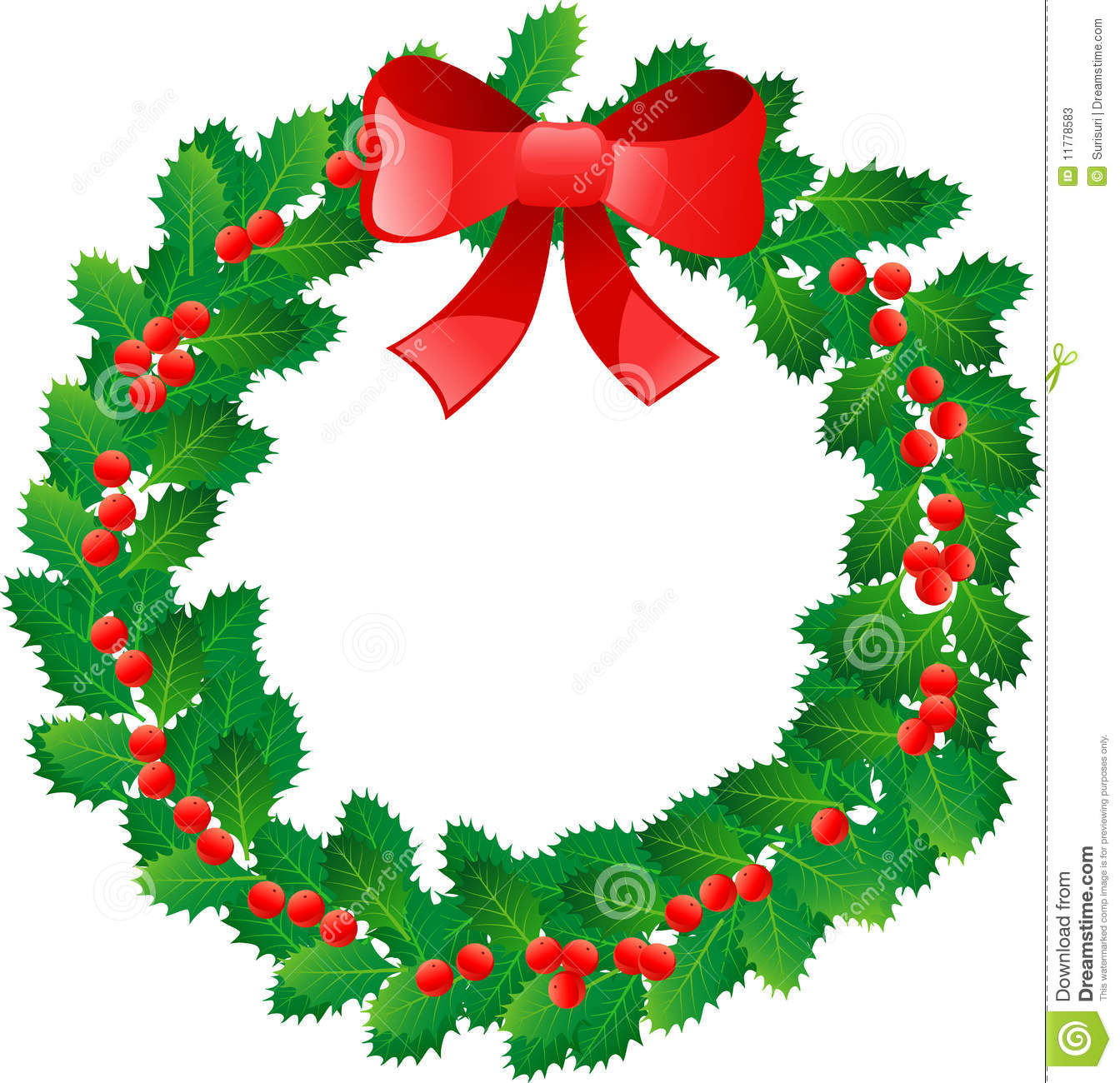 Wreath clipart graphic Christmas Clipart Clipart Clipart Images
