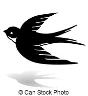 Swallow clipart Stock images Swallow Illustrations swallow