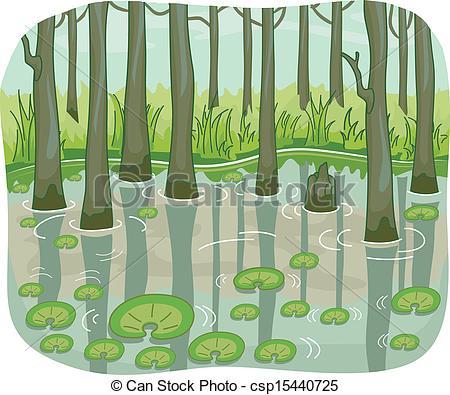 Swamp clipart Pie Swamp Vectors clipart &