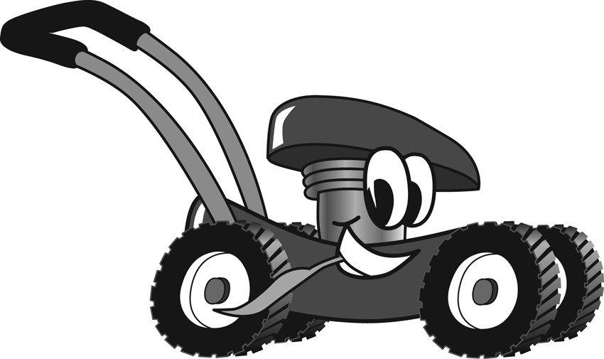 Yellow clipart lawn mower Collection mower Lawn clip clipart