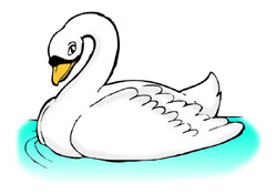 Swan clipart Free clip free at Swan