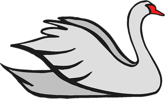 Swan clipart Free large #21207 Free Swan