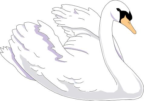 Swan clipart Clipart Art Swan Swan Clip