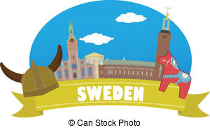 Sweden clipart Map 255 Black Illustrations Tourism