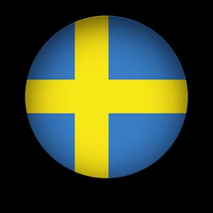 Sweden clipart Button Sweden Flagga Clipart Flag