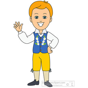 Sweden clipart Traditional sweden Europe costume