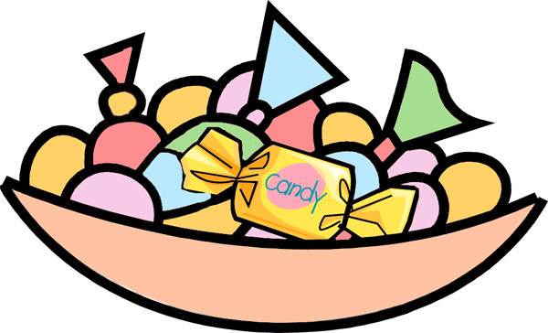 Candy Bar clipart bowl candy Savoronmorehead Clipart Art Clipart and