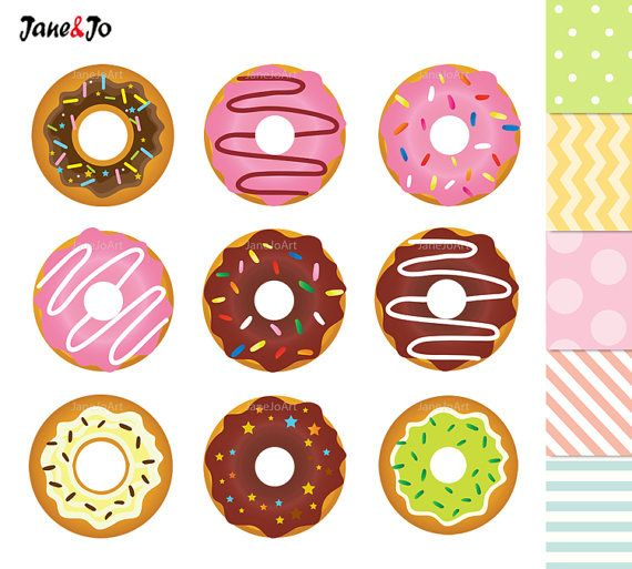 Sweets clipart colorful candy Doughnut ideas on sweets Cupcake
