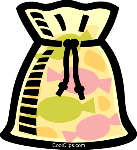 Sweets clipart bag sweet Bag clipart Candy clipart bag