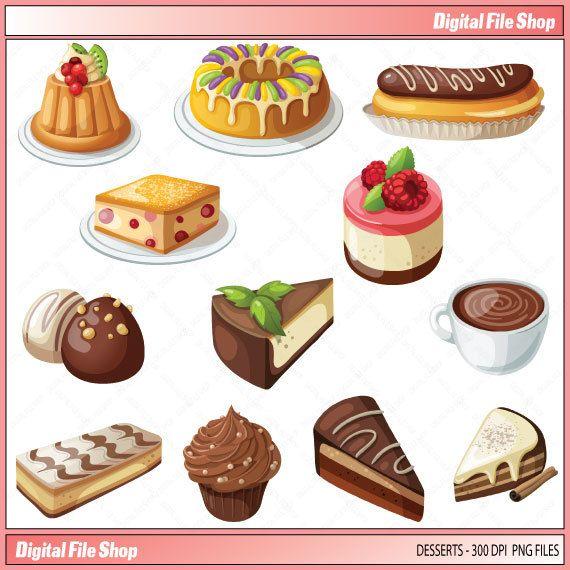 Cake clipart dessert Cup best Art about Pinterest